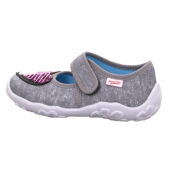 Kids Superfit Slippers grey Hausschuh 4 00280 20 | shoesyouwant