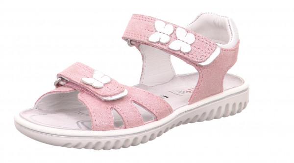 Sparkle Sandals made from Nubukleder in