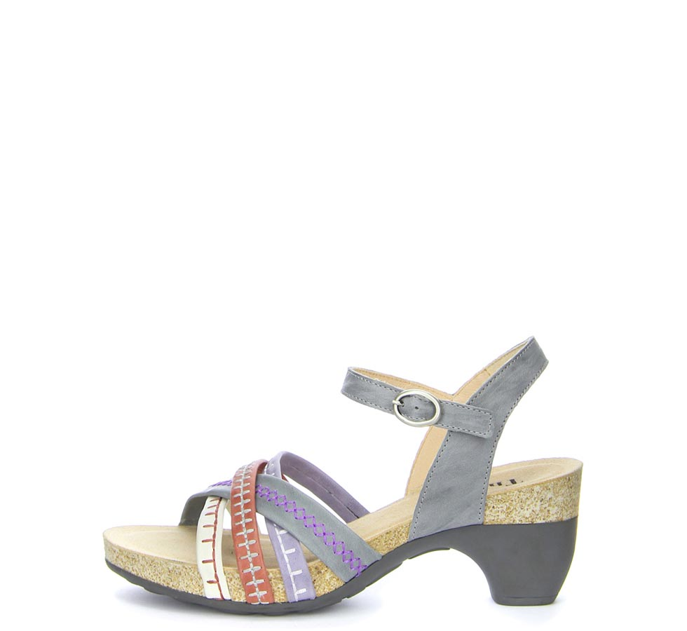 think traudi damen slingback sandalen