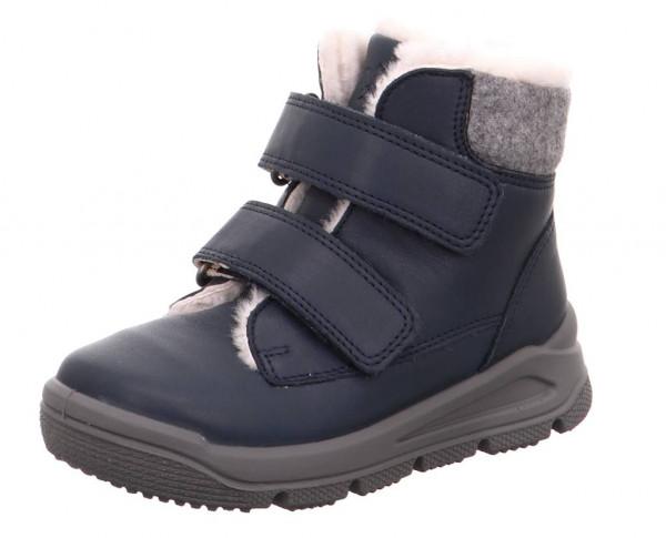 Superfit Mädchen Winter Leder Tex Boots blau, molliges