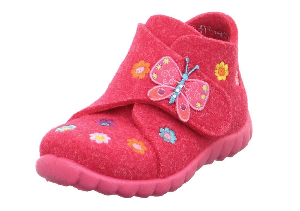 Superfit Happy Mädchen Hausschuhe pink kombi