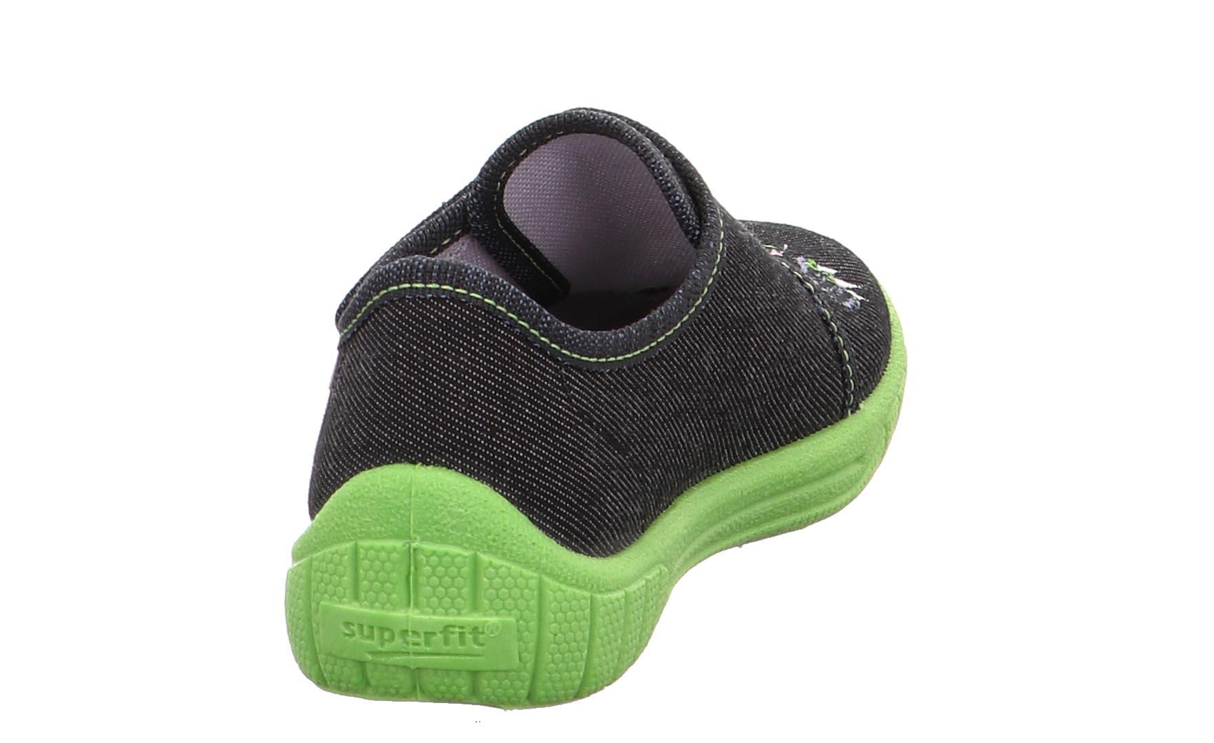 Schwarz 00 Superfit Bill Kinder Schuhe Hausschuhe 6-00278