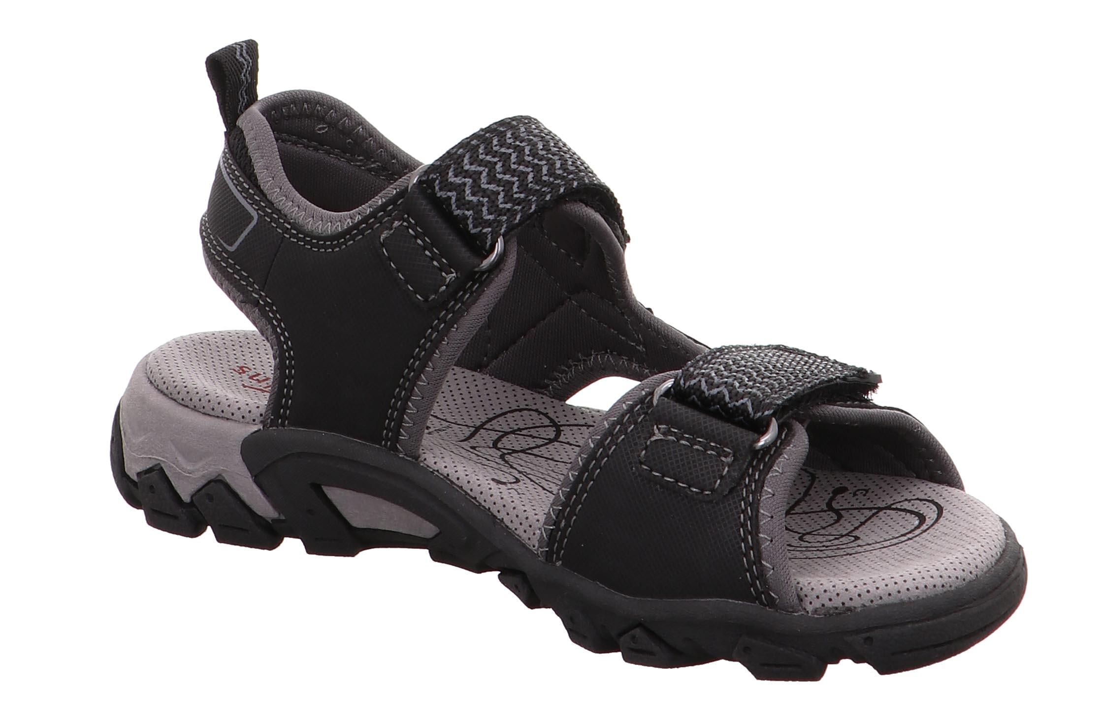 superfit sandalen schwarz